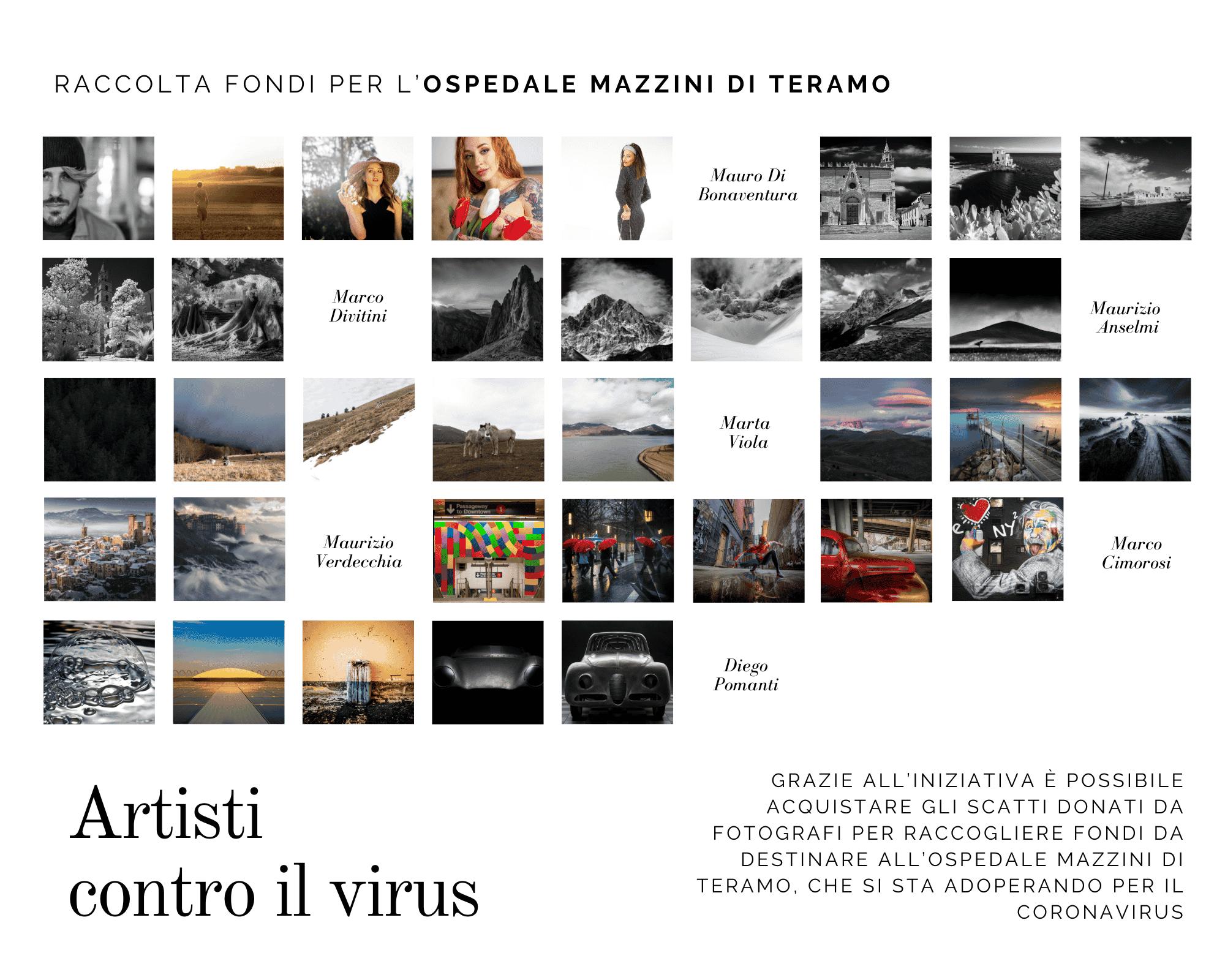 artisti contro il virus